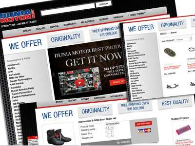 Website Design Dunia Motor